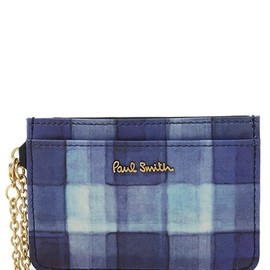 Paul Smith - SUN BLEACH CKECK PASS CASE