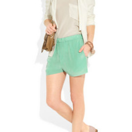 Acne  - Acne Bacall crinkled crepe shorts