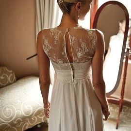 wedding - Vintage lace dress