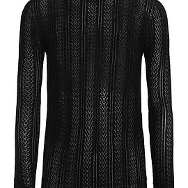 Gucci - Pointelle-knit cashmere and silk-blend sweater