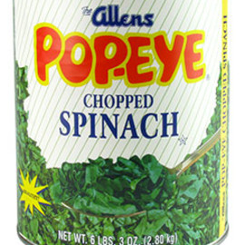 POPEYE - 's Chopped Spinach Can