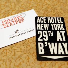 ACE HOTEL - Room Key
