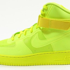 Nike - Air Force 1 Hi Hyperfuse Premium Volt / Volt