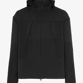 DESCENTE ALLTERRAIN - Zipped Hooded Jacket - Black