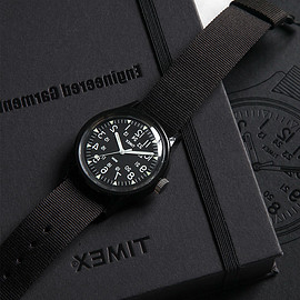 ENGINEERED GARMENTS x TIMEX - ORIGINAL CAMPERーBLACK