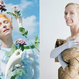 Tilda Swinton by Tim Walker - W May 2013