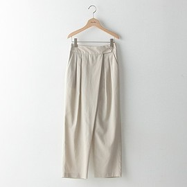 Steven Alan - High twil cotton tuck pants