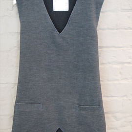 sacai - Knit Switching Gillet