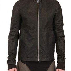 Rick Owens - 2013/SS■STERNBERG LEATHER JACKET