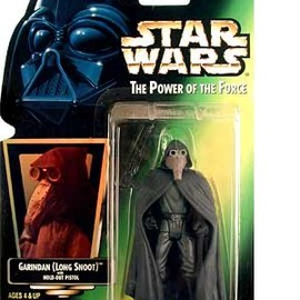 kenner - STAR WARS Power of the Force Garindan Action Figure