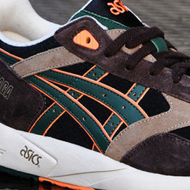 asics - Gel Saga II (Camo) - Brown/Orange/Green