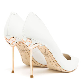 SOPHIA WEBSTER - Coco Pointed Leather Pumps