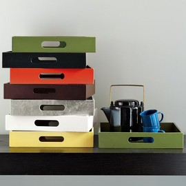 west elm - Small Rectangle Lacquer Trays
