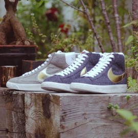 Nike - BEAMS × NIKE BLAZER MID VINTAGE 2COLORS