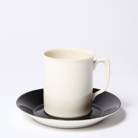BRANKSOME CHINA - CUP & SAUCER WHITE