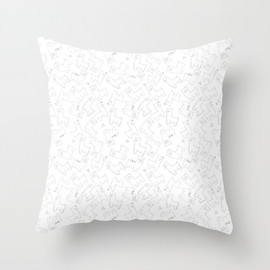 Alpacas Throw Pillow