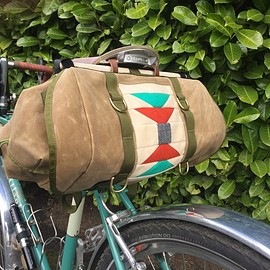 MAKESHIFTER CANVAS WORKS - Outback Saddlebag Pre-Order
