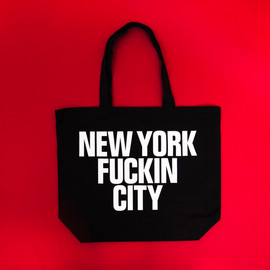 Anoraks - NEW YORK FUCKING CITY TOTE