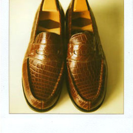 J.M.WESTON - Crocodile Loafer