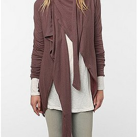 urban outfitters - Vacarious by Nature Scaf Open Cardigan