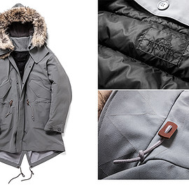 BUNNEY - Extreme Cold Weather Fishtail Parka