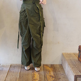 MAISON EUREKA - VINTAGE REWORK CHINO / MILITARY PANTS