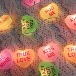 Candy Hearts room light