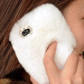 alanatt - Cony Hair with Lace Cover for iPhone 5