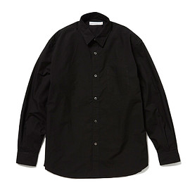 HEAD PORTER PLUS - REGULAR SHIRT BLACK