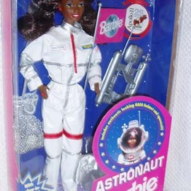 mattel - Astronaut Black Barbie