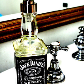 Curly Birds - Recycled Jack Daniels soap dispenser
