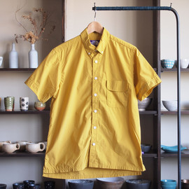 THE NORTH FACE PURPLE LABEL - H/S B.D Shirt #mustard