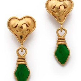 CHANEL - Vintage Chanel earrings