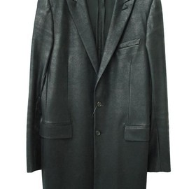"DIOR HOMME - 03A/W ""Luster"" PVC Long Length Jacket"