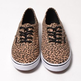 VANS - VANS/AUTHENTIC LO PRO(L)/ヴァンズ/(LEOPARD)HERRINGBONE