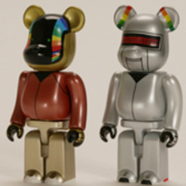 MEDICOM TOY - DAFT PUNK BE@RBRICK インターステラ5555
