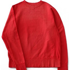 ETHOS - Boro Rib Sweat (red)
