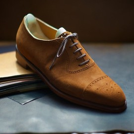 Spigola - Bespoke Suede Shoes