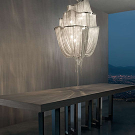 Terzani - Atlantis A14 Nickel Suspension Light