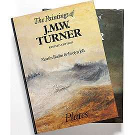 Martin Butlin & Evelyn Joll (著) - The Paintings of J. M. W. Turner: Revised Edition Plates+Text 2冊組