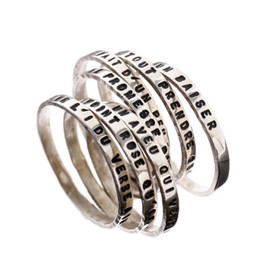 Spiral-shaped ring