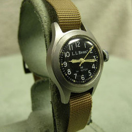 "L.L.Bean - L. L. Bean  Built By  Hamilton Ladies ""Field"" or Sport Wrist Watch"