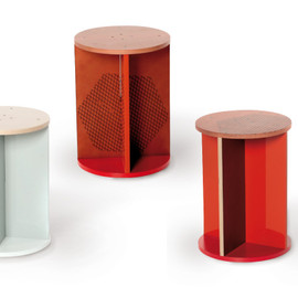 mixing media by marti guixe - torino stool