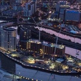 London - A flat on London City Island in the capital's Docklands