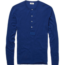 Acne - Acne Bristol Wool Henley Top