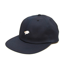 Six Panel Cap - Black