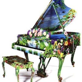 Steinway & Sons - Painted piano