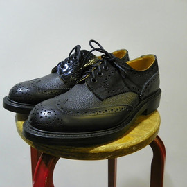 Ghillie Brogue with Kiltie / Navy Suede