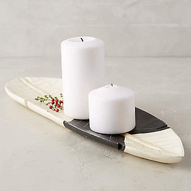 Anthropologie - Carved Feather Tray