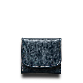 Whitehouse Cox - ホワイトハウスコックス | S5938 COIN PURSE / LONDONCALF × BRIDLE(NAVY/RED)